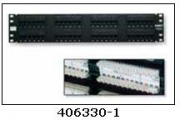 Patch Panel UTP 24B RJ-45 110 Estándar Cat5E 19